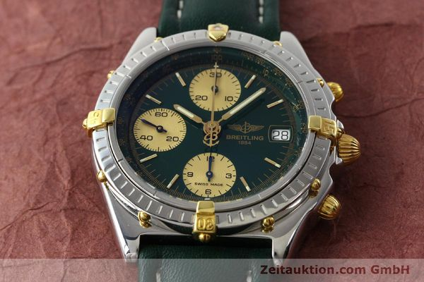 Used luxury watch Breitling Chronomat chronograph steel / gold automatic Kal. B13 ETA 7750 Ref. B13050.1  | 141865 14