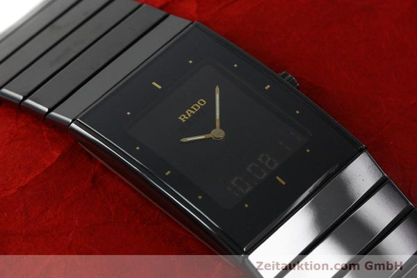 Used luxury watch Rado Diastar Ceramica ceramic quartz Kal. ETA 988332 Ref. 193.0324.3  | 141867 13