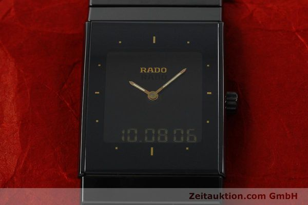 Used luxury watch Rado Diastar Ceramica ceramic quartz Kal. ETA 988332 Ref. 193.0324.3  | 141867 14