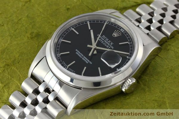 Used luxury watch Rolex Datejust steel automatic Kal. 3135 Ref. 16200  | 141868 01