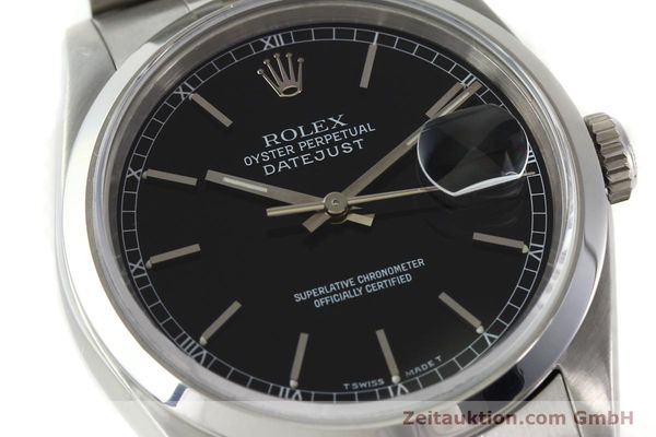 Used luxury watch Rolex Datejust steel automatic Kal. 3135 Ref. 16200  | 141868 02