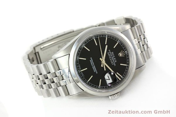 Used luxury watch Rolex Datejust steel automatic Kal. 3135 Ref. 16200  | 141868 03