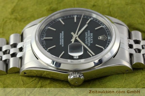 Used luxury watch Rolex Datejust steel automatic Kal. 3135 Ref. 16200  | 141868 05