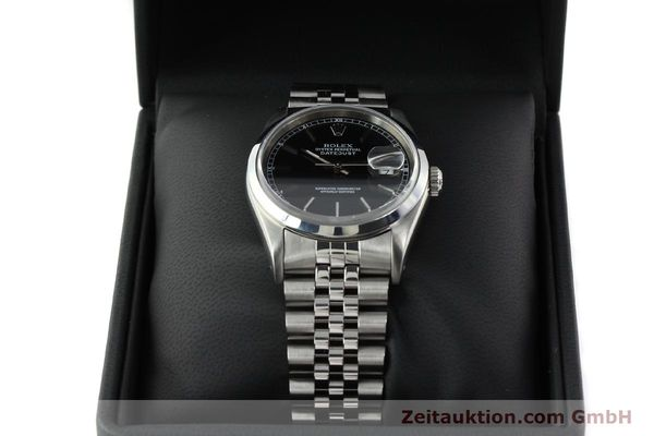 Used luxury watch Rolex Datejust steel automatic Kal. 3135 Ref. 16200  | 141868 07