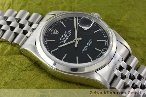 Used luxury watch Rolex Datejust steel automatic Kal. 3135 Ref. 16200  | 141868 15