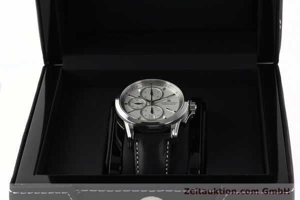 Used luxury watch Maurice Lacroix Pontos chronograph steel automatic Kal. ETA 7750 Ref. PT753/48  | 141869 07