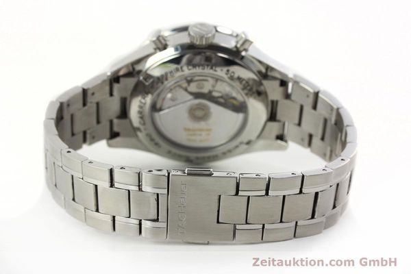 Used luxury watch Tag Heuer Carrera chronograph steel automatic Kal. 18 ETA 7750 Ref. CV2011  | 141871 12