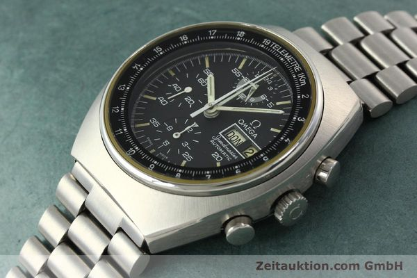 Used luxury watch Omega Speedmaster chronograph steel automatic Kal. 1045 Ref. 178.0012  | 141873 01