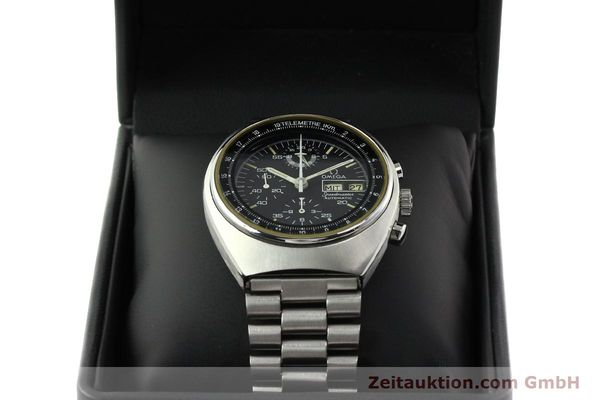 Used luxury watch Omega Speedmaster chronograph steel automatic Kal. 1045 Ref. 178.0012  | 141873 07