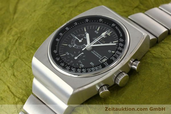 Used luxury watch Omega Speedmaster chronograph steel automatic Kal. 1040 Ref. 178.002  | 141877 01
