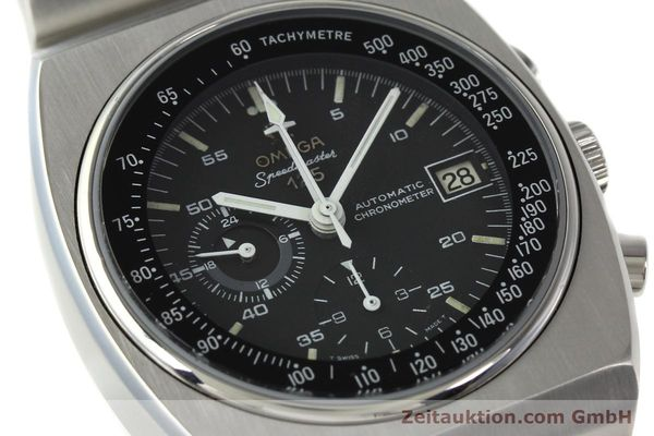 Used luxury watch Omega Speedmaster chronograph steel automatic Kal. 1040 Ref. 178.002  | 141877 02