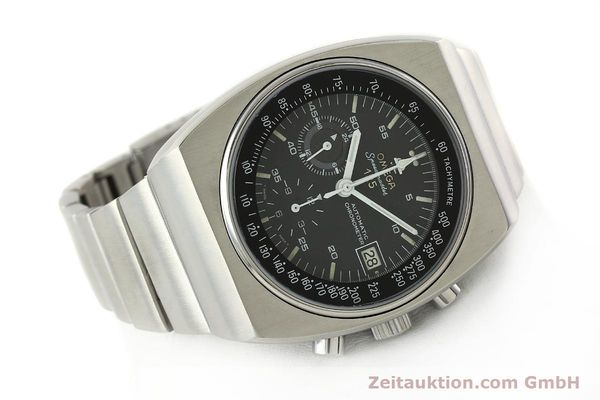 Used luxury watch Omega Speedmaster chronograph steel automatic Kal. 1040 Ref. 178.002  | 141877 03