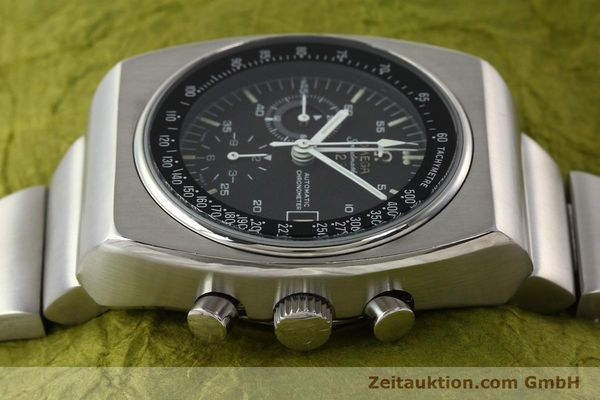 Used luxury watch Omega Speedmaster chronograph steel automatic Kal. 1040 Ref. 178.002  | 141877 05