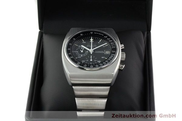 Used luxury watch Omega Speedmaster chronograph steel automatic Kal. 1040 Ref. 178.002  | 141877 07