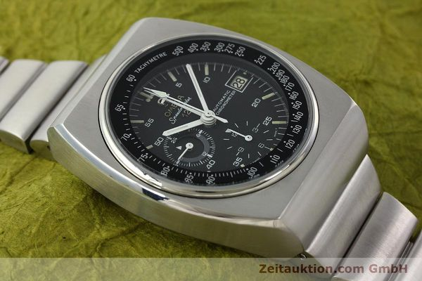 Used luxury watch Omega Speedmaster chronograph steel automatic Kal. 1040 Ref. 178.002  | 141877 14