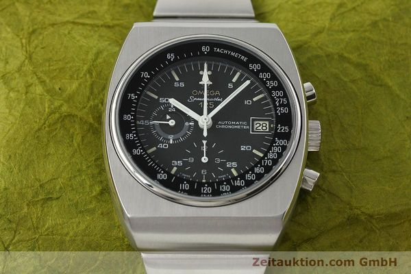 Used luxury watch Omega Speedmaster chronograph steel automatic Kal. 1040 Ref. 178.002  | 141877 15