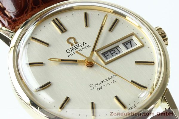 Used luxury watch Omega Seamaster 14 ct yellow gold automatic Kal. 1020 Ref. 004862 VINTAGE  | 141878 02