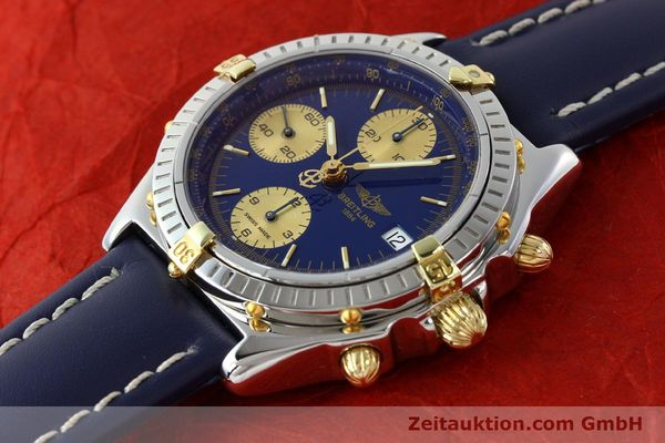 Used luxury watch Breitling Chronomat silver-gilt automatic Kal. B13 ETA 7750 Ref. B13048  | 141879 01