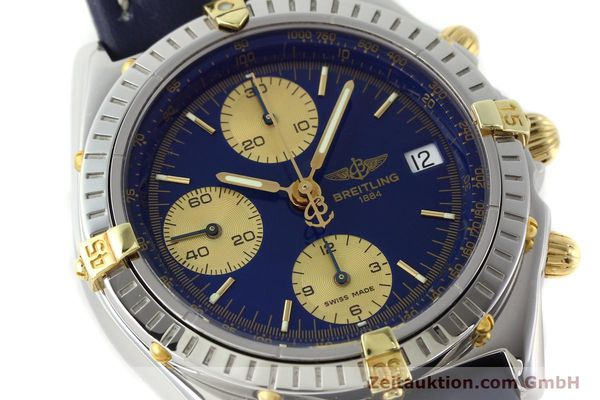 Used luxury watch Breitling Chronomat silver-gilt automatic Kal. B13 ETA 7750 Ref. B13048  | 141879 02