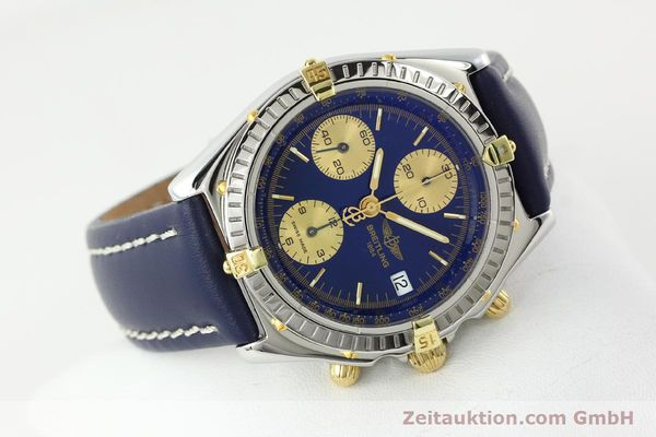 Used luxury watch Breitling Chronomat silver-gilt automatic Kal. B13 ETA 7750 Ref. B13048  | 141879 03