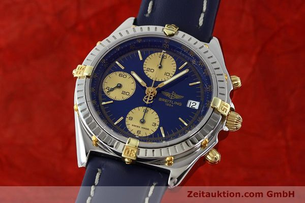 Used luxury watch Breitling Chronomat silver-gilt automatic Kal. B13 ETA 7750 Ref. B13048  | 141879 04