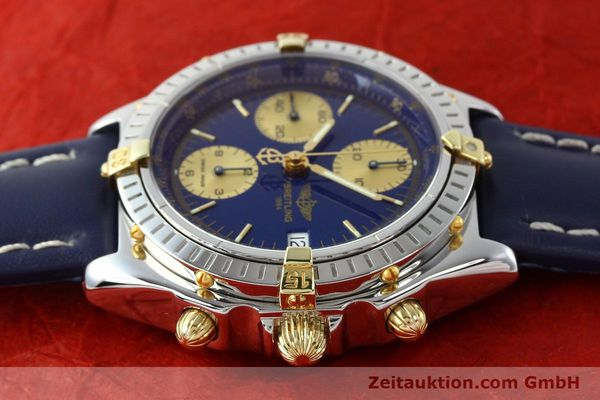 Used luxury watch Breitling Chronomat silver-gilt automatic Kal. B13 ETA 7750 Ref. B13048  | 141879 05