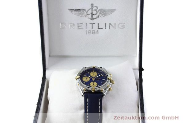 Used luxury watch Breitling Chronomat silver-gilt automatic Kal. B13 ETA 7750 Ref. B13048  | 141879 07