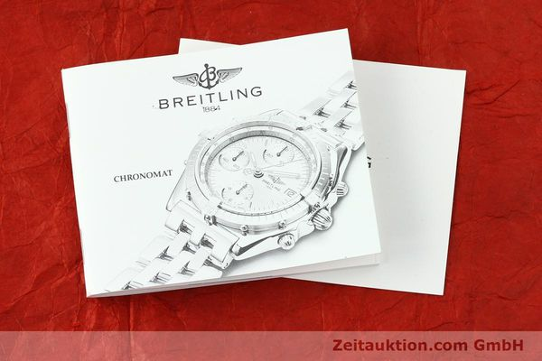 Used luxury watch Breitling Chronomat silver-gilt automatic Kal. B13 ETA 7750 Ref. B13048  | 141879 12