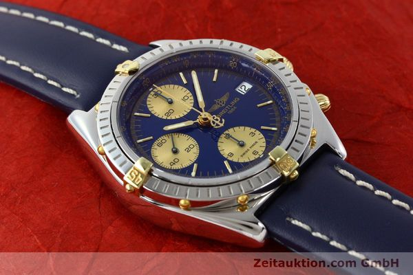 Used luxury watch Breitling Chronomat silver-gilt automatic Kal. B13 ETA 7750 Ref. B13048  | 141879 15
