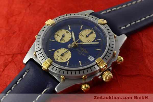 Used luxury watch Breitling Chronomat chronograph steel / gold automatic Kal. B13 VAL 7750 Ref. 81.950B13047  | 141881 01
