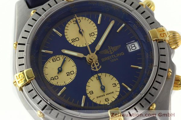 Used luxury watch Breitling Chronomat chronograph steel / gold automatic Kal. B13 VAL 7750 Ref. 81.950B13047  | 141881 02