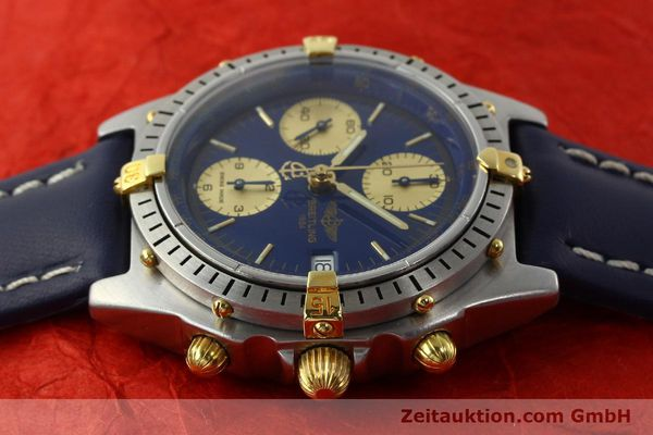 Used luxury watch Breitling Chronomat chronograph steel / gold automatic Kal. B13 VAL 7750 Ref. 81.950B13047  | 141881 05