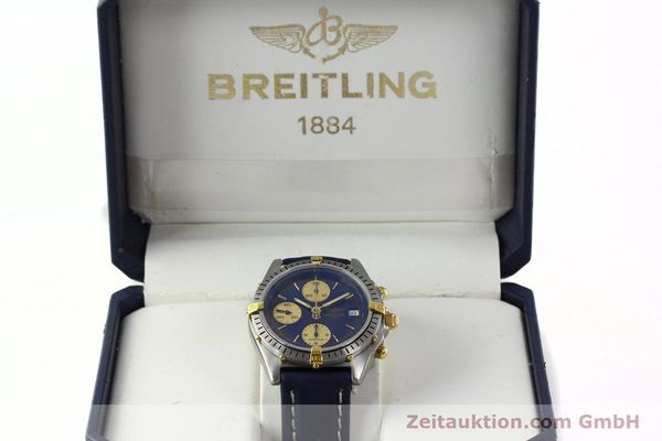 Used luxury watch Breitling Chronomat chronograph steel / gold automatic Kal. B13 VAL 7750 Ref. 81.950B13047  | 141881 07