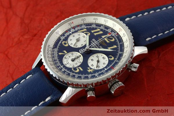 Used luxury watch Breitling Navitimer chronograph steel automatic Kal. B39 ETA 2892A2 Ref. A39022.1  | 141883 01
