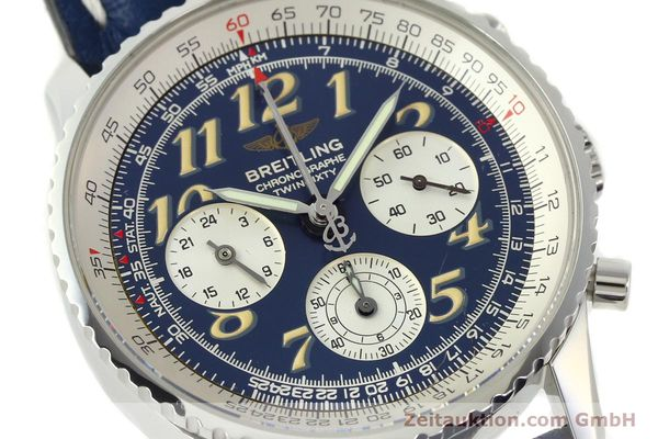 Used luxury watch Breitling Navitimer chronograph steel automatic Kal. B39 ETA 2892A2 Ref. A39022.1  | 141883 02