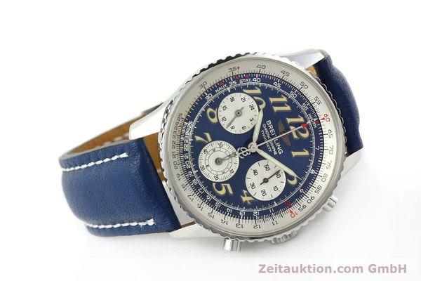 Used luxury watch Breitling Navitimer chronograph steel automatic Kal. B39 ETA 2892A2 Ref. A39022.1  | 141883 03