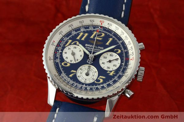 Used luxury watch Breitling Navitimer chronograph steel automatic Kal. B39 ETA 2892A2 Ref. A39022.1  | 141883 04