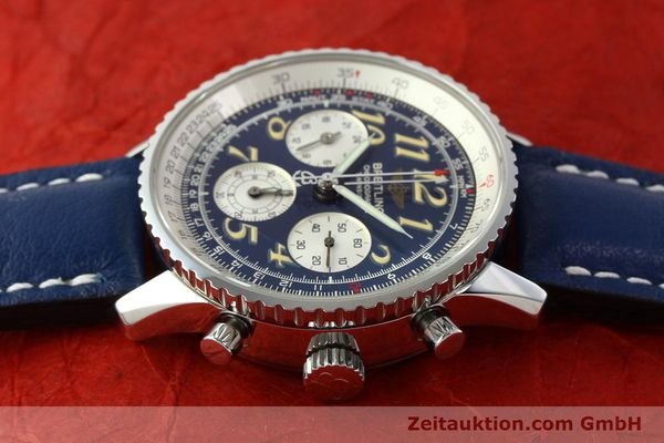 Used luxury watch Breitling Navitimer chronograph steel automatic Kal. B39 ETA 2892A2 Ref. A39022.1  | 141883 05