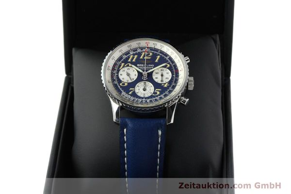 Used luxury watch Breitling Navitimer chronograph steel automatic Kal. B39 ETA 2892A2 Ref. A39022.1  | 141883 07