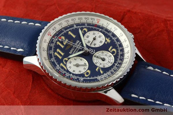 Used luxury watch Breitling Navitimer chronograph steel automatic Kal. B39 ETA 2892A2 Ref. A39022.1  | 141883 12