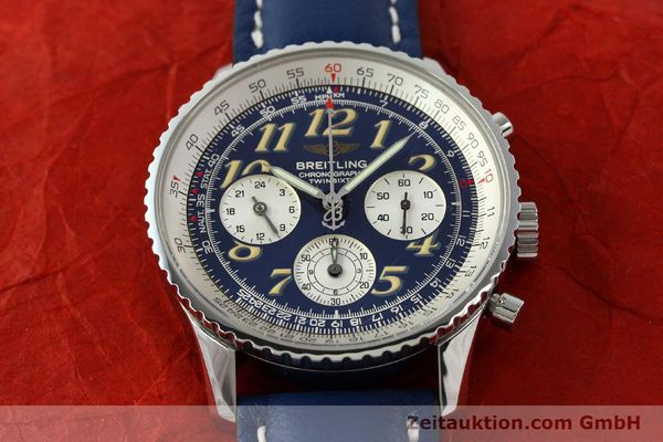 Used luxury watch Breitling Navitimer chronograph steel automatic Kal. B39 ETA 2892A2 Ref. A39022.1  | 141883 13