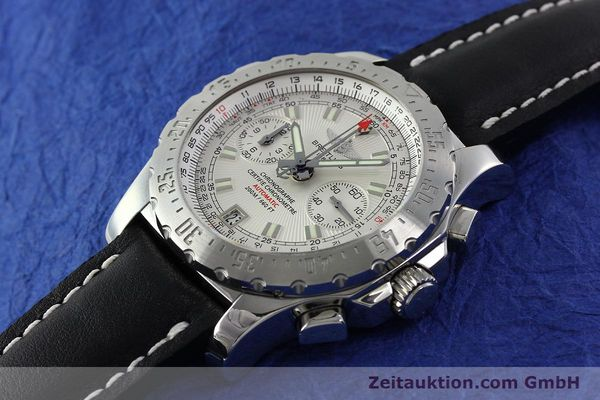 Used luxury watch Breitling Skyracer chronograph steel automatic Kal. B27 ETA 2892A2 Ref. A27362  | 141885 01