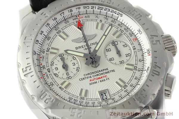 Used luxury watch Breitling Skyracer chronograph steel automatic Kal. B27 ETA 2892A2 Ref. A27362  | 141885 02