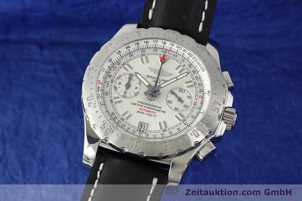 Used luxury watch Breitling Skyracer chronograph steel automatic Kal. B27 ETA 2892A2 Ref. A27362  | 141885 04
