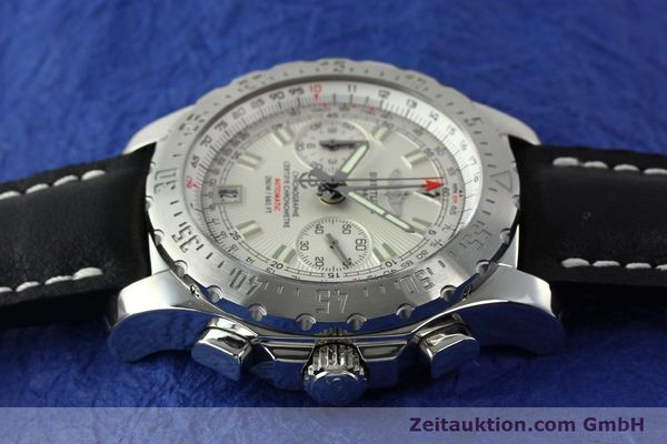 Used luxury watch Breitling Skyracer chronograph steel automatic Kal. B27 ETA 2892A2 Ref. A27362  | 141885 05