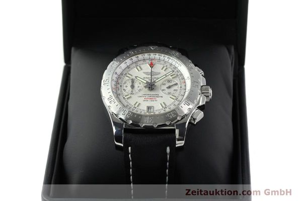 Used luxury watch Breitling Skyracer chronograph steel automatic Kal. B27 ETA 2892A2 Ref. A27362  | 141885 07