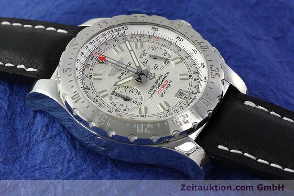 Used luxury watch Breitling Skyracer chronograph steel automatic Kal. B27 ETA 2892A2 Ref. A27362  | 141885 13