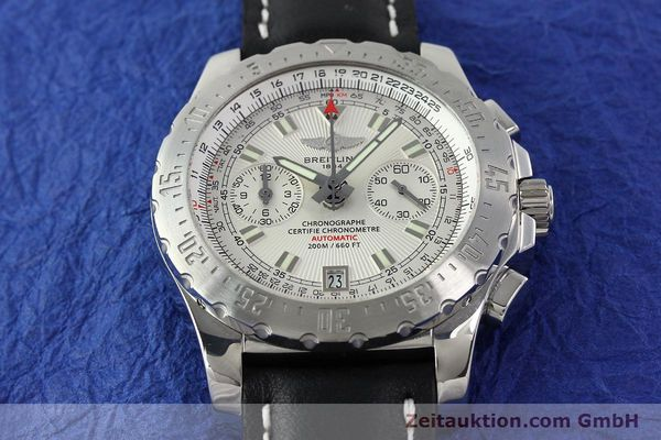 Used luxury watch Breitling Skyracer chronograph steel automatic Kal. B27 ETA 2892A2 Ref. A27362  | 141885 14