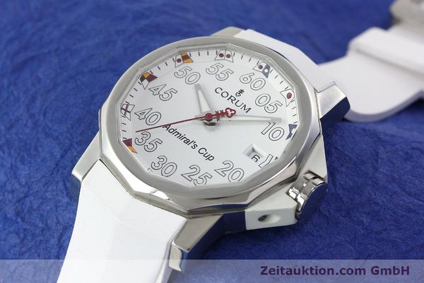 Used luxury watch Corum Admirals Cup steel automatic Kal. ETA 2892A2 Ref. 01.0010  | 141888 01