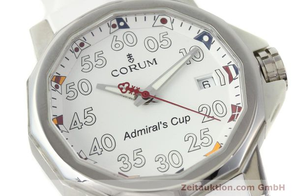 Used luxury watch Corum Admirals Cup steel automatic Kal. ETA 2892A2 Ref. 01.0010  | 141888 02